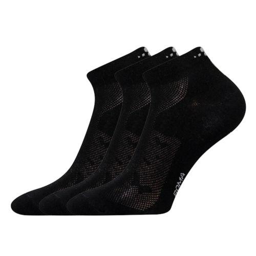 Ponožky piki 30 30 černá velikost 26-28 (39-42), 3páry