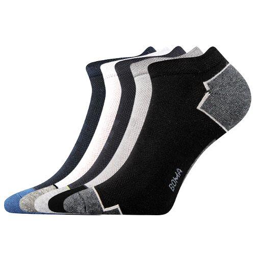 Ponožky piki 31 mix 31 velikost 26-28 (39-42), 5párů