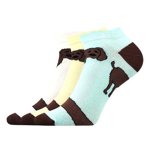 Ponožky piki 33 mix 33 B velikost 26-28 (39-42), 3páry