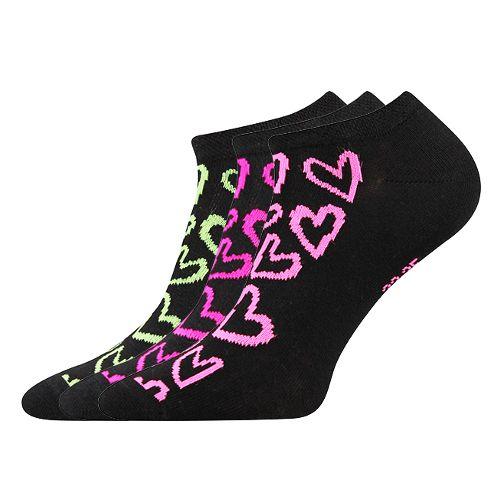 Ponožky piki 40 mix 40 B - černá velikost 26-28 (39-42), 3páry