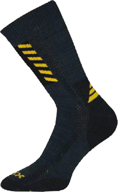 Ponožky power work tmavě šedá velikost 31-32 (47-48), 1pár