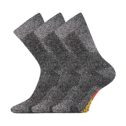 Ponožky pracan muline velikost 29-31 (43-46), 3páry
