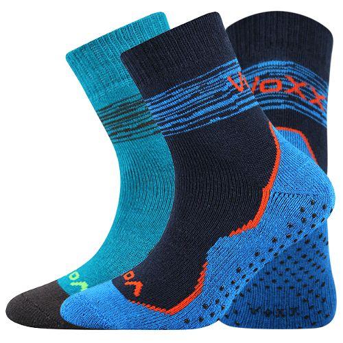 Ponožky prime abs mix kluk velikost 23-25 (35-38), 2páry