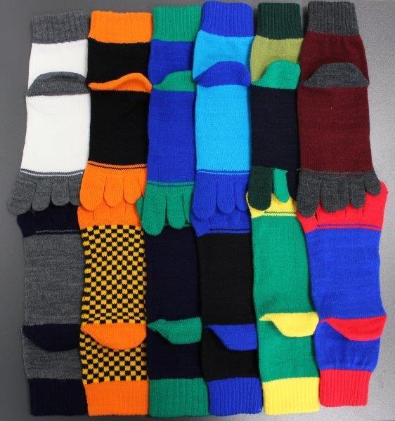 Ponožky prstové - akryl 29-31 velikost 29-31 (43-46), 1pár