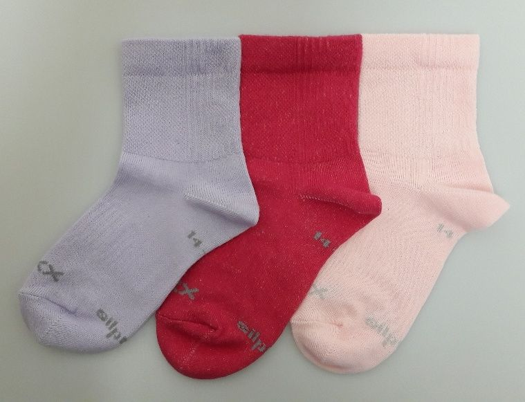 Ponožky regularik mix B - holka velikost 23-25 (35-38), 3páry
