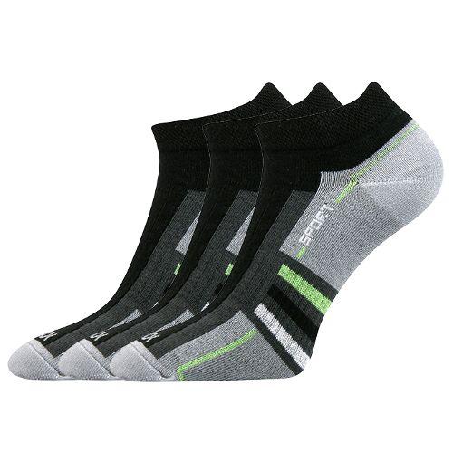 Ponožky rex 04 04 černá velikost 23-25 (35-38), 3páry