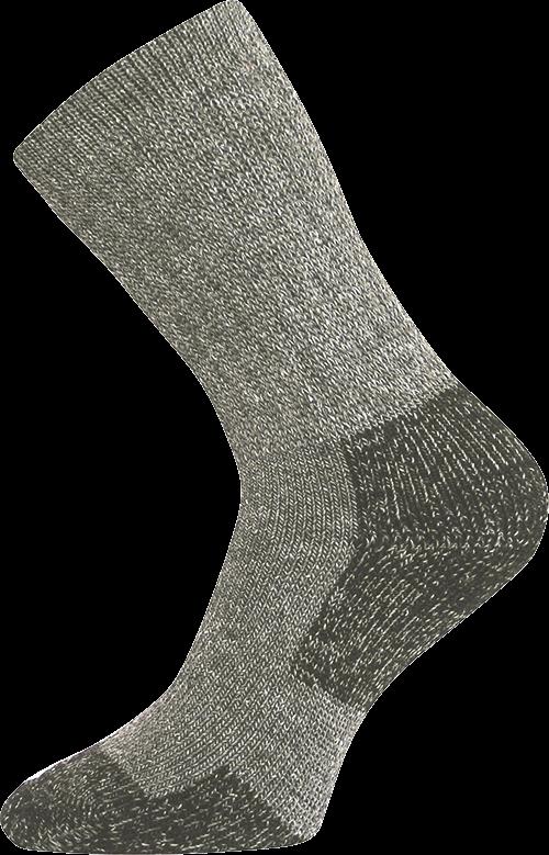 Ponožky sector tmavě šedá velikost 23-25 (35-38), 1pár