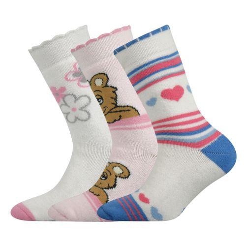 Ponožky sibiř dětská mix D II velikost 23-25 (35-38), 3páry