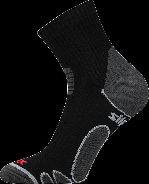 Ponožky silo černá velikost 29-31 (43-46), 1pár