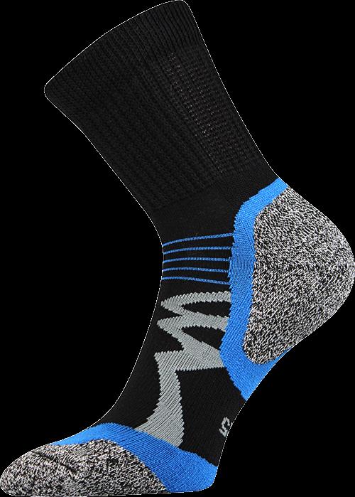 Ponožky simplex černá velikost 29-31 (43-46), 1pár