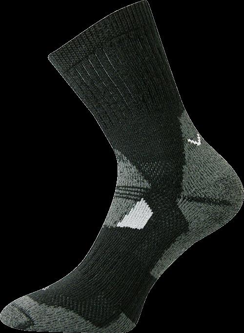 Ponožky stabil černá velikost 29-31 (43-46), 1pár