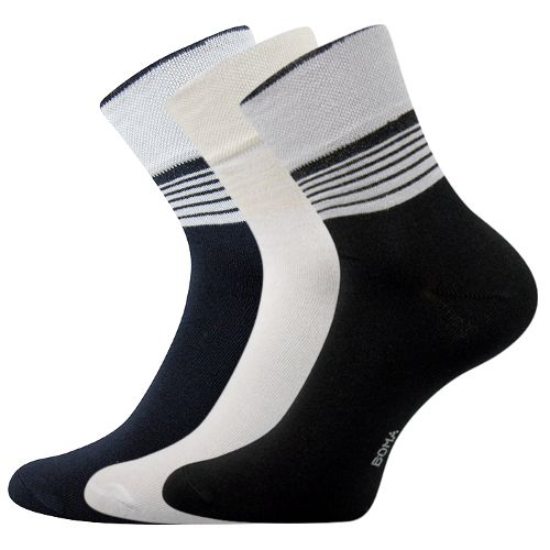 Ponožky stela 08 mix 08 C velikost 26-28 (39-42), 3páry