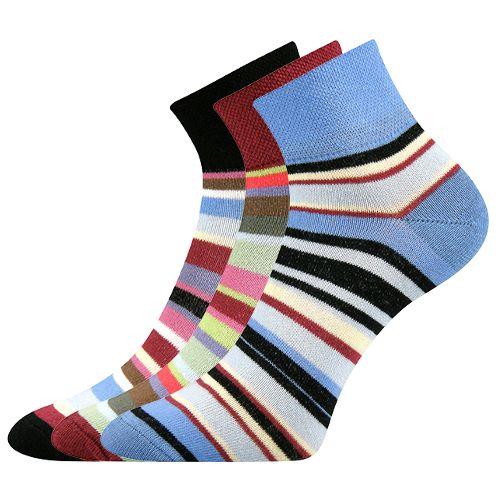 Ponožky stela 13 mix 13 velikost 26-28 (39-42), 3páry
