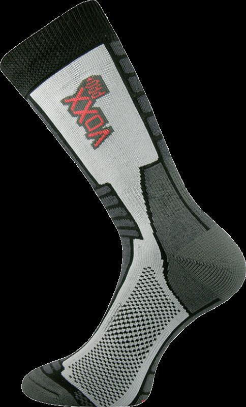 Ponožky stralis černá velikost 29-31 (43-46), 1pár