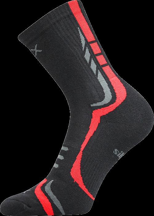 Ponožky thorx černá velikost 29-31 (43-46), 1pár