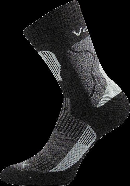 Ponožky treking černá velikost 31-32 (47-48), 1pár