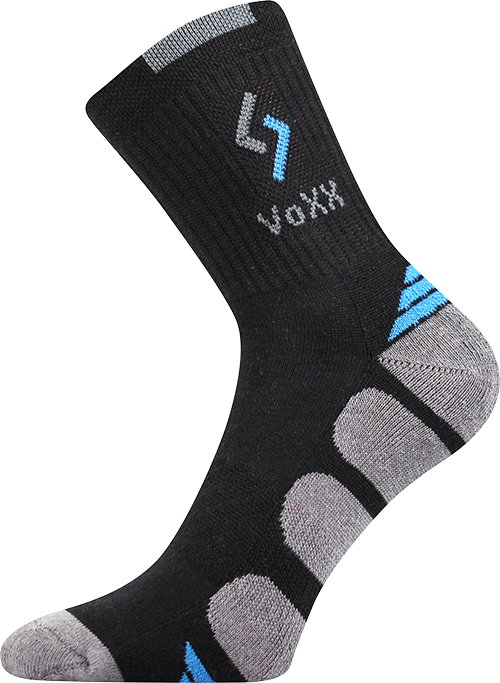 Ponožky tronic černá velikost 32-34 (48-51), 1pár