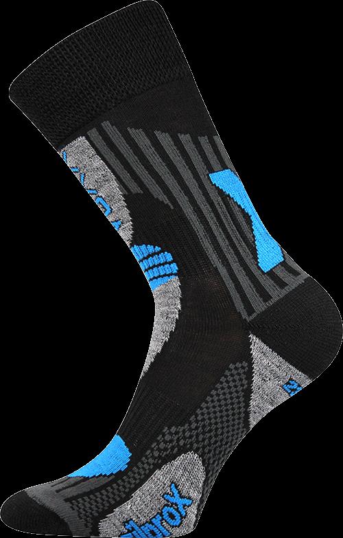 Ponožky vision černá - modrá velikost 29-31 (43-46), 1pár