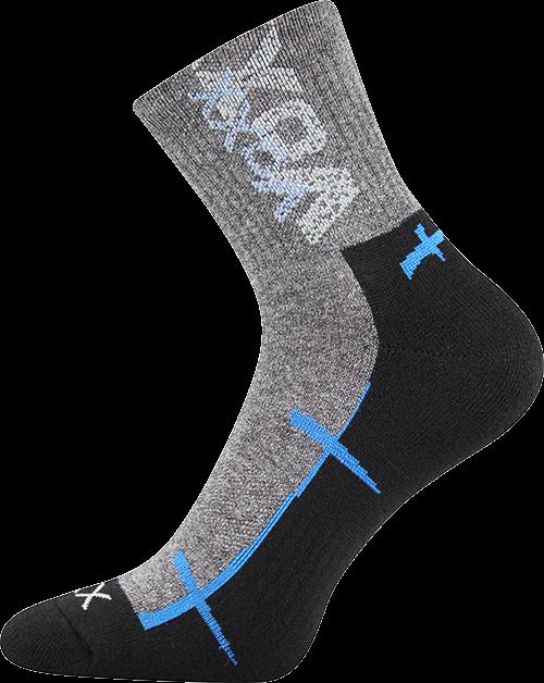 Ponožky walli černá velikost 32-34 (48-51), 1pár