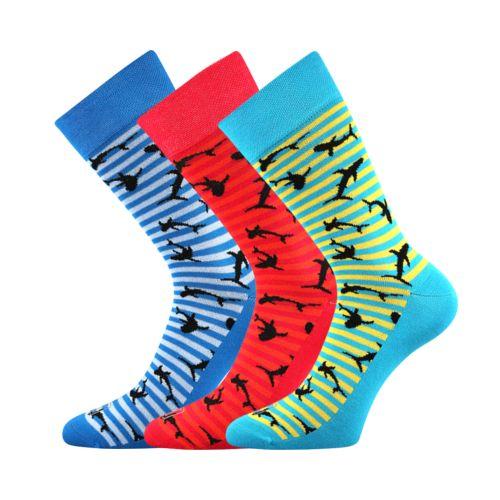 Ponožky wearel 011 žraloci velikost 29-31 (43-46), 3páry