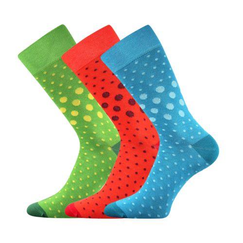 Ponožky wearel 015 puntíky velikost 29-31 (43-46), 3páry