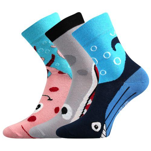 Ponožky xantipa 40 mix 40 velikost 26-28 (39-42), 3páry