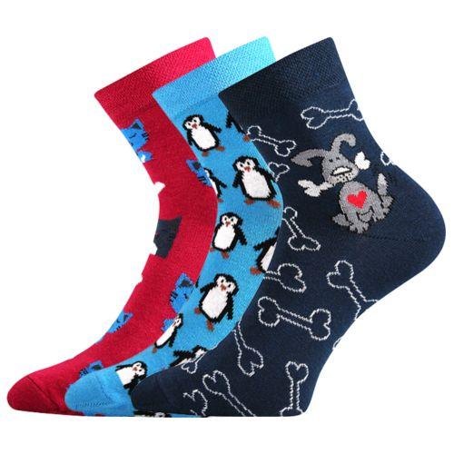 Ponožky xantipa 42 mix 42 velikost 26-28 (39-42), 3páry