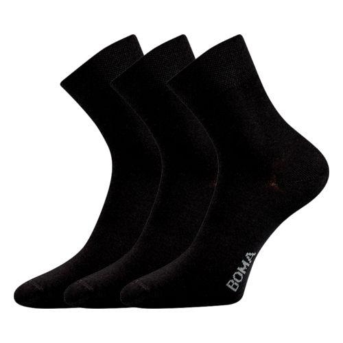 Ponožky zazr černá velikost 29-31 (43-46), 3páry