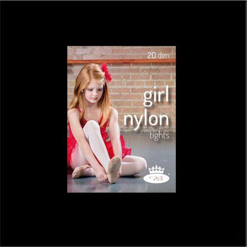 Punčochové kalhoty girl nylontights nero velikost 146-152, 1kus