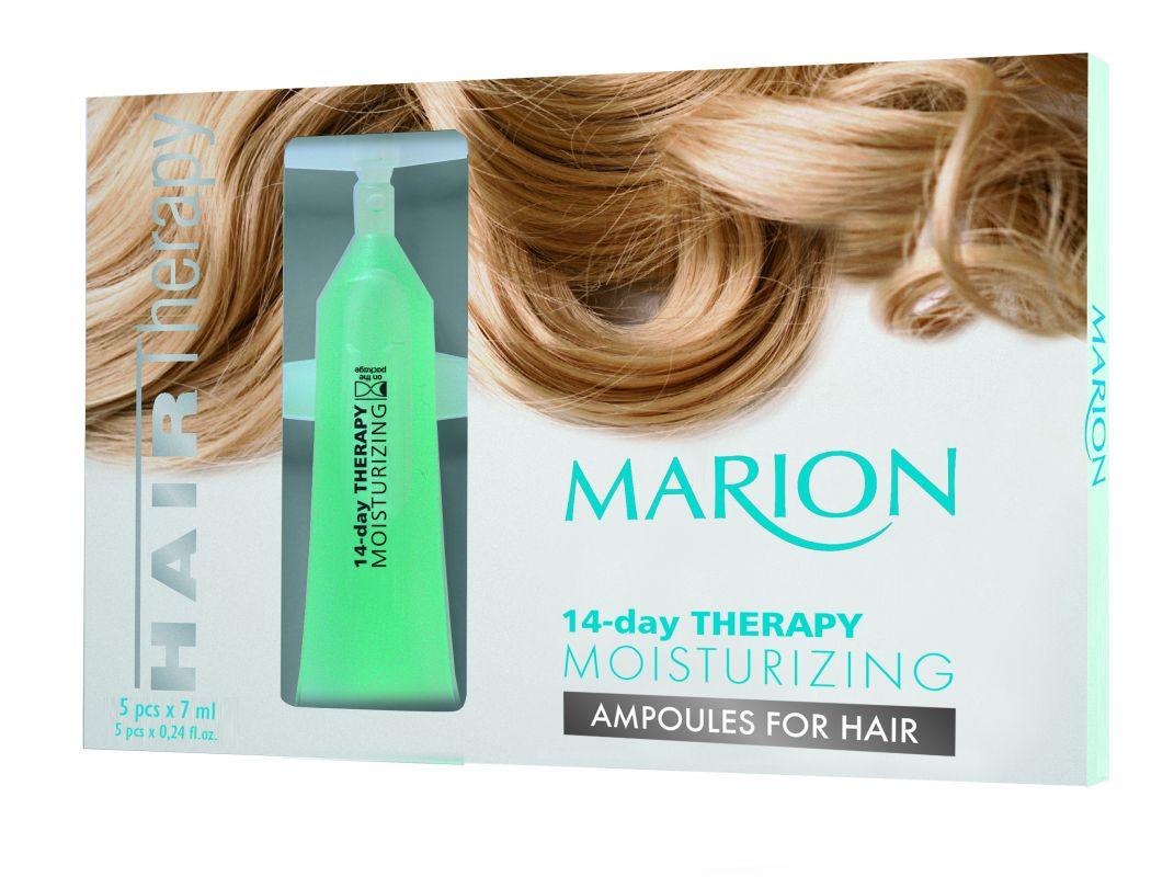 Ampulky Na Vlasy: 14-Denní Hydratační Terapie 5x7ml.