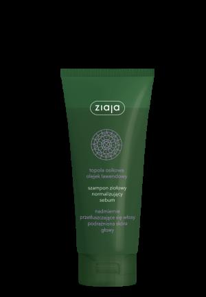 Herbal šampon normalizující pro nadměrně mastné vlasy 200ml Ziaja
