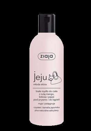 Jeju bílý sprchový & koupelový gel 300ml Ziaja