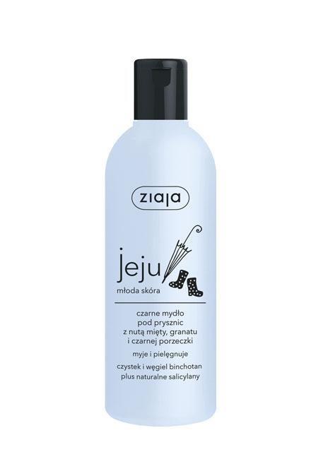 Jeju Černé sprchové mýdlo 300ml Ziaja