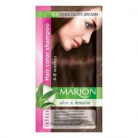 Marion Tónovací Šampon 63 Chocolate Brown