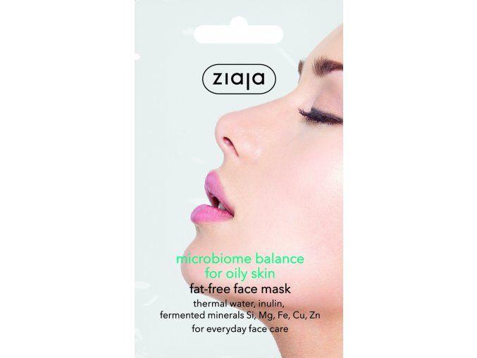 Pleťová maska Mikrobiome Balance fet-free pro mastnou pleť 7ml
