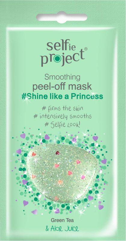 Selfie Project vyhlazující slupovací *princezna* maska #Shine like a Princess 12ml Maurisse