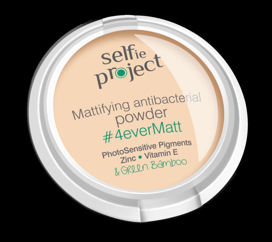 Selfie Project zmatňující antibakteriální pudr #4EeverMatt 9g Maurisse